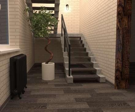 Stairs by Студия дизайна Елены Нужиной