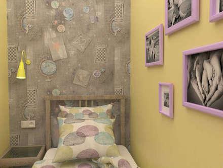Teen bedroom by Студия дизайна Елены Нужиной