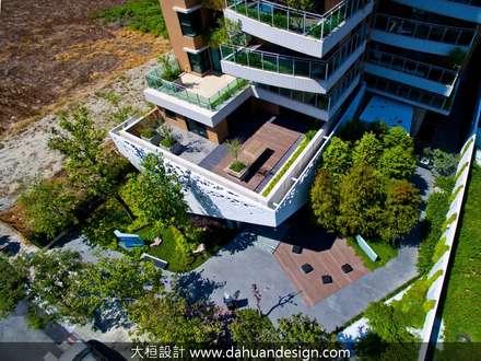 منزل عائلي كبير تنفيذ 大桓設計顧問有限公司