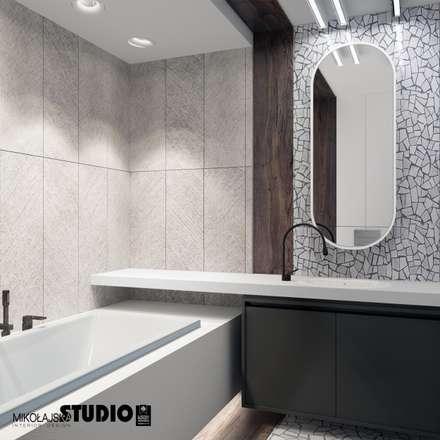 ห้องน้ำ by MIKOŁAJSKAstudio