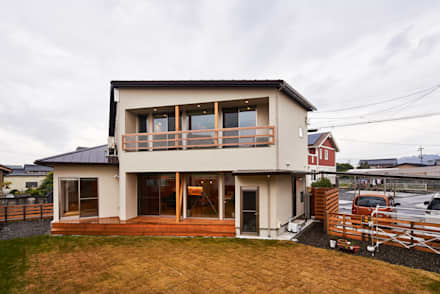 border design architects의  목조 주택