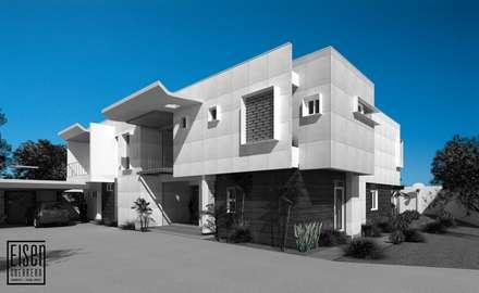 Casas unifamilares de estilo  de Eisen Arquitecto