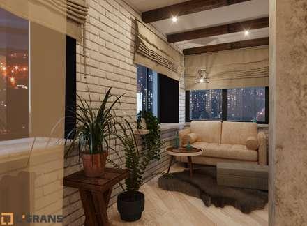 Дизайн проект интерьера 3к. квартиры г. Хабаровск: Стены в . Автор – Студия дизайна интерьера L'grans