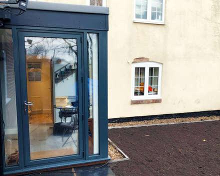 A Contemporary Barn Conversion:  Windows  by Croft Architecture Ltd