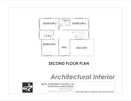 Boden von Arch't. Jan Reinhold T. Macogue (Architectural & Technical Services)