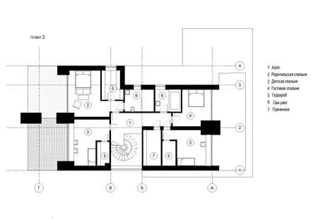 Stairs by Архитектурная студия Чадо