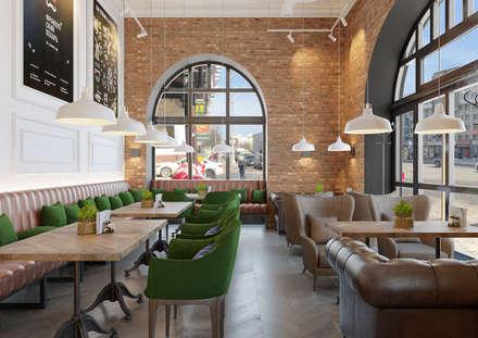 Кафе Французский пекарь Мытный Двор: Рабочие кабинеты в . Автор – Дизайн Студия 33