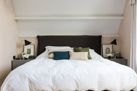 East Dulwich Industrial Conversion: industrial Bedroom by Imperfect Interiors