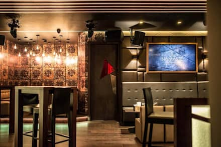 Namaste Lounge, London:  Bars & clubs by Asco Lights Limited