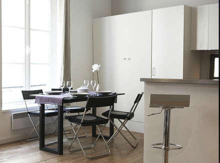 Appartement 75006 Paris: Cuisine de style de style Scandinave par 2002