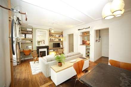 Le séjour : Salon de style de style Colonial par Clo - Architecture & Design