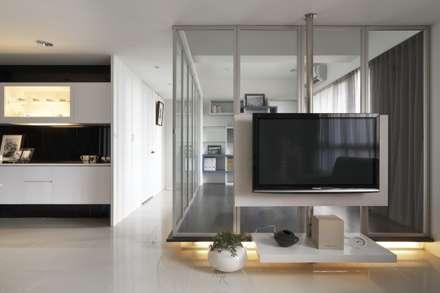 質樸中透出內斂的時尚:  牆面 by 禾光室內裝修設計 ─ Her Guang Design