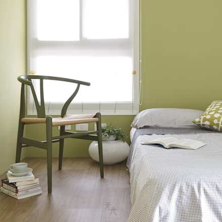 minimalistic Nursery/kid's room by 禾光室內裝修設計 ─ Her Guang Design