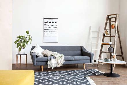 Graues Sofa Skandinavisch: Skandinavische Wohnzimmer Von Baltic Design Shop