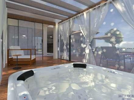 Baños Turcos de estilo  por Daniela Ponsoni Arquitetura