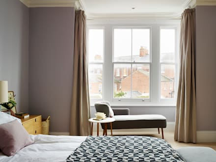 Southwold Coastal retreat: classic Bedroom by Imperfect Interiors