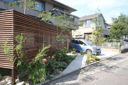 حديقة تنفيذ ポーラスターデザイン一級建築士事務所