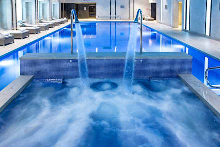 Award Winning Pool and Spa at InterContinental London - The 02:  Hotels by London Swimming Pool Company