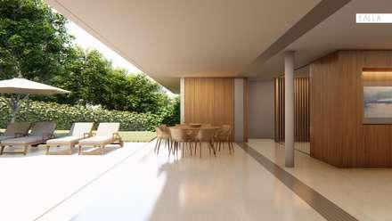 Casa Bela Vista: Casas modernas por Studio Calla