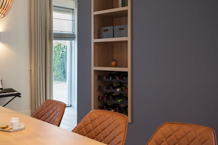 Inspiratie Sfeervolle Eetkamers : Slaapkamer paarse muur eetkamer inspiratie sfeervolle