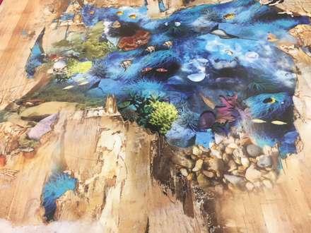 3d flooring:  Floors by Blue Butterfly Flooring