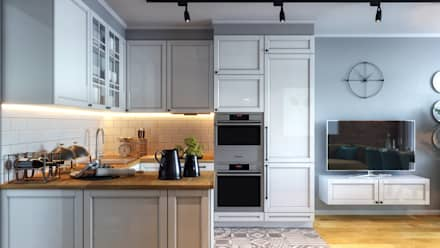 ЖК «Опалиха» 03: Кухни в . Автор – Loft&Home