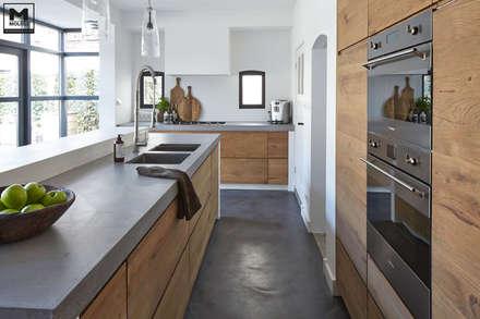 مطبخ تنفيذ Molitli Interieurmakers