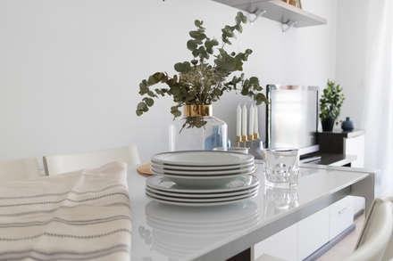 Home Staging en Comedor: Comedores de estilo escandinavo de Become a Home