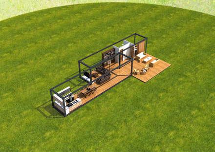 منزل جاهز للتركيب تنفيذ Next Container