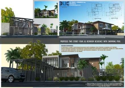 :  Villas by E.V.Casbadillo Arquitectura