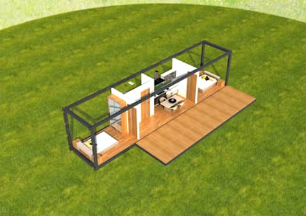 組合屋 by Next Container