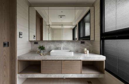 ห้องน้ำ by 橙羿設計有限公司