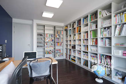 Oficinas de estilo  por 바라봄디자인