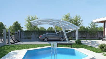 Dündar Design - 3D Mimari Görselleştirme – Müstakil Ev: modern tarz Evler