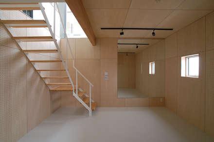 صالة الرياضة تنفيذ ARCHIXXX眞野サトル建築デザイン室