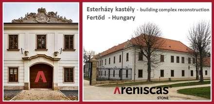 Esterházy Castle  - Fertőd  - Hungary: Villas de estilo  de ARENISCAS STONE