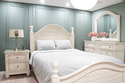modern Bedroom by 리인홈인테리어디자인스튜디오