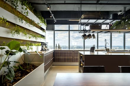 industrial Kitchen by STUDIO ANDRE LENZA