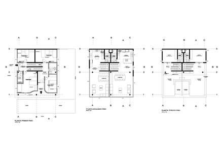 排屋 by AREA - arquitectura y construcción