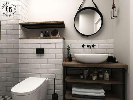 scandinavian Bathroom by Femberg Architektura Wnętrz