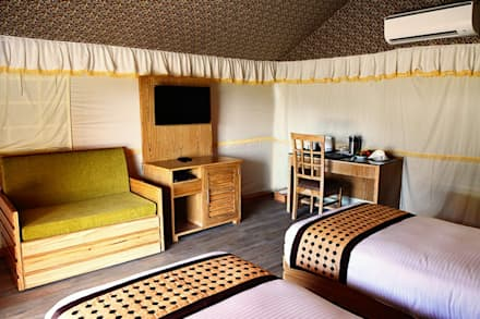 tent interior:  Commercial Spaces by Studio idea