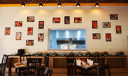 restaurant wall:  Commercial Spaces by Studio idea