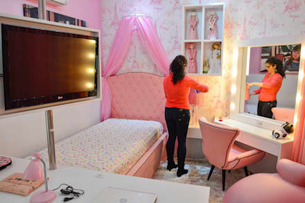 Girls Bedroom by ALB Interiores