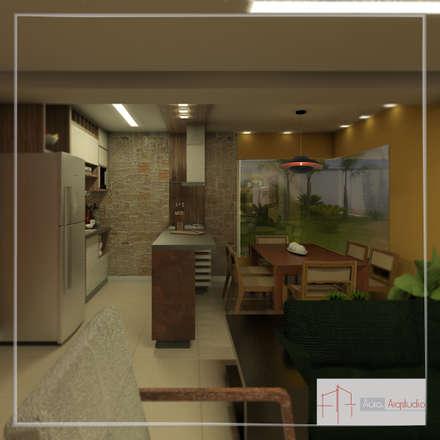 Unit dapur by Aúra Arqstudio