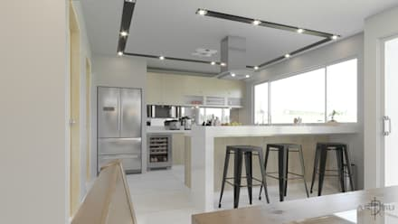 Kitchen units by ARQSU, Arquitectura e Interiorismo