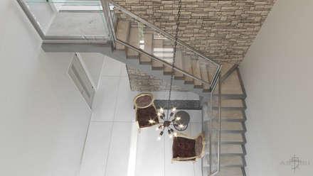 Escaleras de estilo  por ARQSU, Arquitectura e Interiorismo