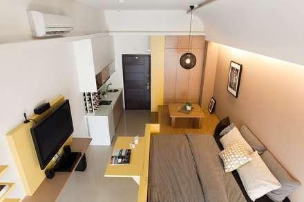 scandinavian Bedroom by 禾光室內裝修設計 ─ Her Guang Design