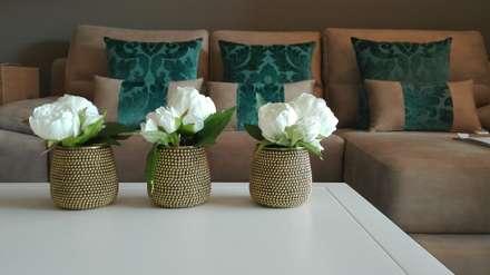 Luz project: Salas de estar modernas por Giihome