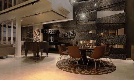 Vivaldi Mont Kiara: modern Living room by Norm designhaus