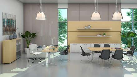 1: Oficinas y Tiendas de estilo  por Gabriela Afonso